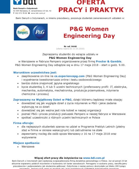 P&G Women Engineering Day